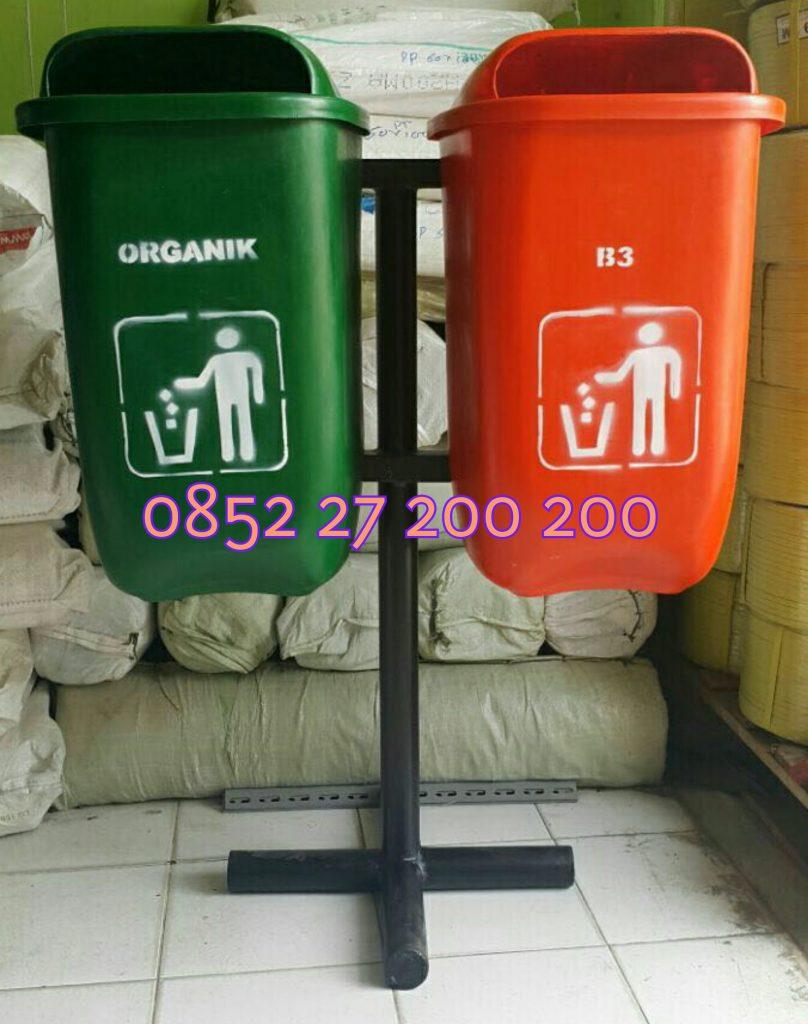 harga tong sampah oval