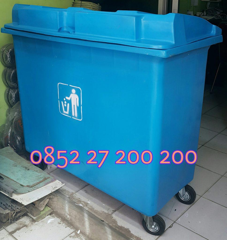 tempat sampah roda 500 liter