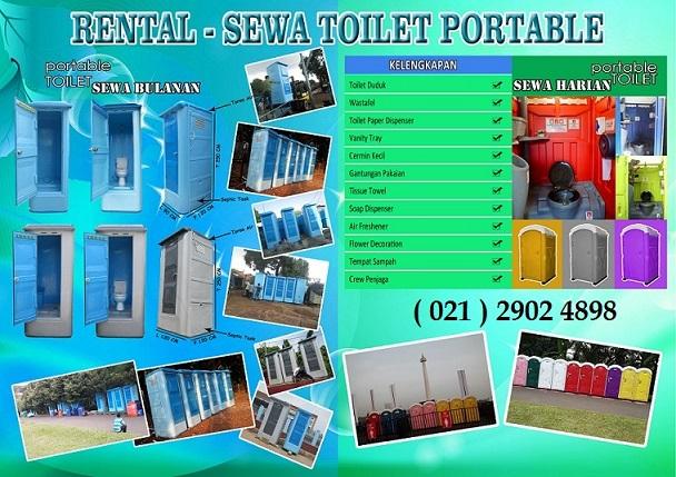 toilet portable, toilet proyek, wc sementara
